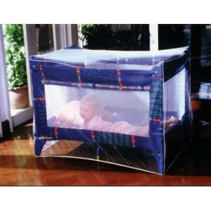 Moustiquaire pour lit bébé imprégnée