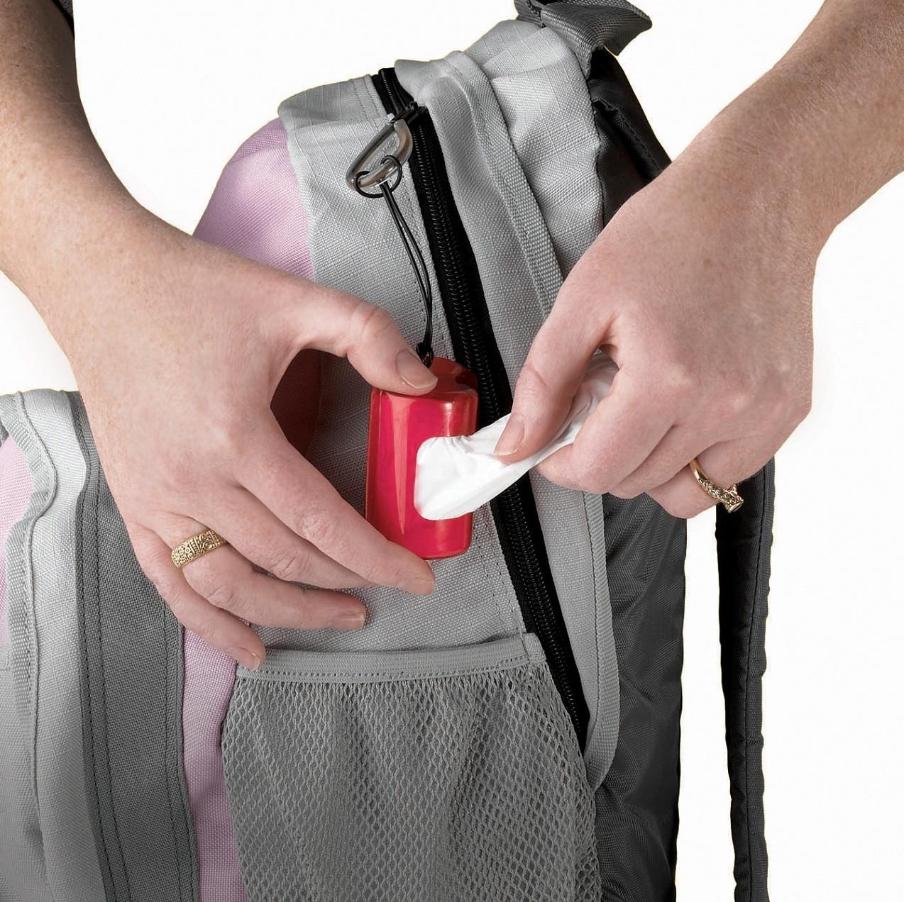 Distributeur de sacs à couche Bag It