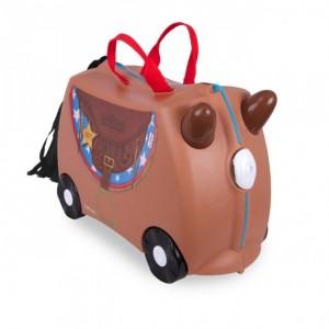 Valise enfant Trunki à roulette Bronco le Cheval