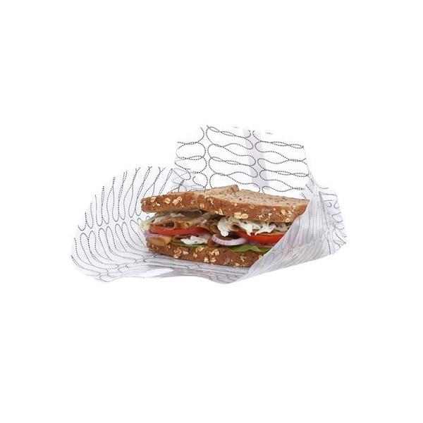 Emballage alimentaire réutilisable XXL pour sandwich - lot de 2