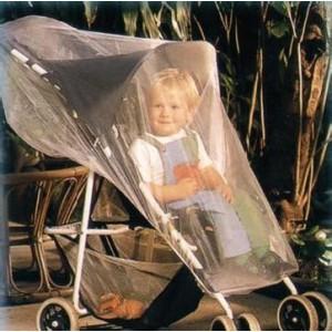 Moustiquaire imprégnée poussette et coque bébé