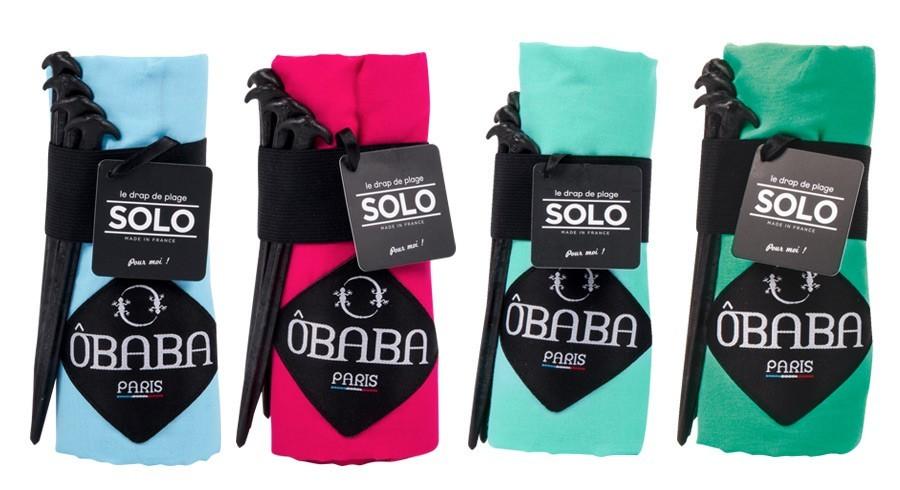 Drap de plage Obaba Solo ultra compact