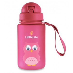Gourde animal chouette rose Little Life