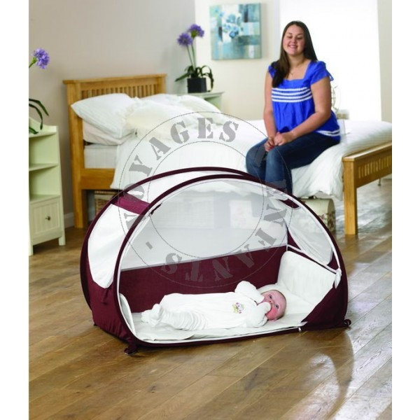 lit voyage b b koo di d s 6 mois colori caf cr me. Black Bedroom Furniture Sets. Home Design Ideas