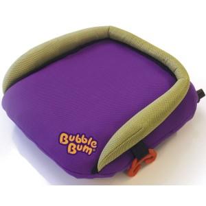Rehausseur de voiture compact gonflable BubbleBum violet