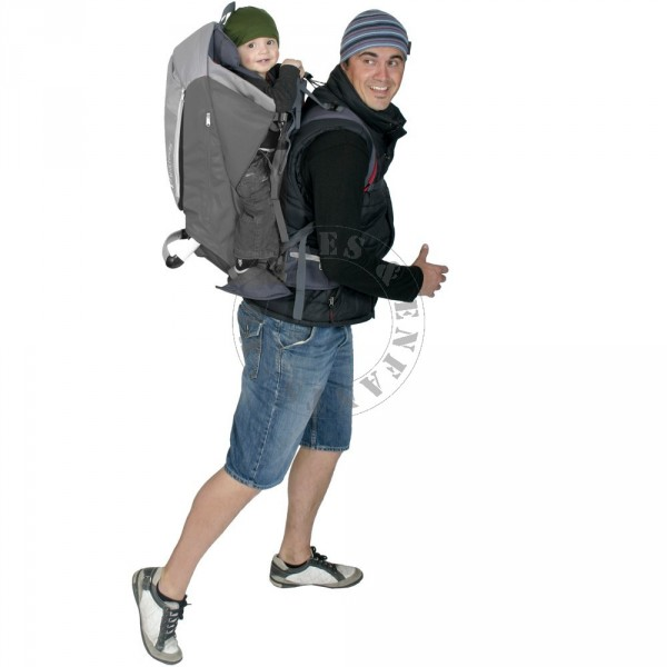 Porte b b sac dos escape de phils and teds rouge et gris - Sac a dos porte bebe decathlon ...