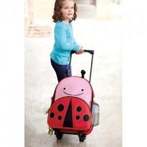 Skip Hop valise enfant coccinelle rouge