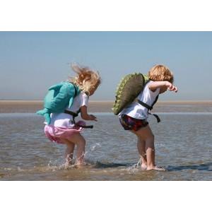 Sac à dos de piscine-plage pour enfant Crocodile de Little Life