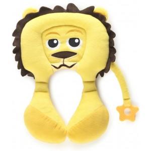 Cale tête doudou pour bébé Pili Lion de BabytoLove