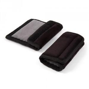 Protection de ceinture Diono Soft Wraps gris/noir réversible
