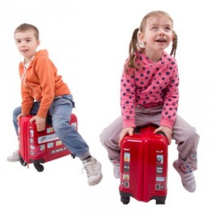 Valise enfant London Bus de Cuties and Pals