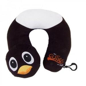 Cale tête tour de cou Doudou pingouin de Cuties and Pals
