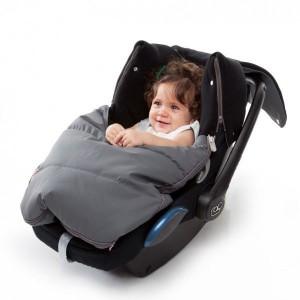 Chancelière Evolution pour bébé et couverture universelle Cosy grey Baby to love