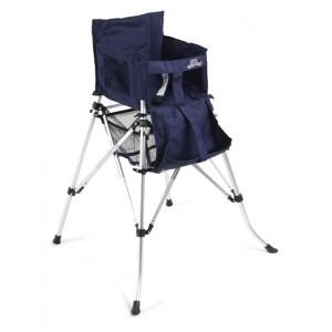 Chaise haute pliante et nomade de BabyToLove - bleue