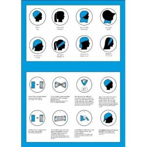 Tour de cou et bonnet multifonction Twister pour enfant