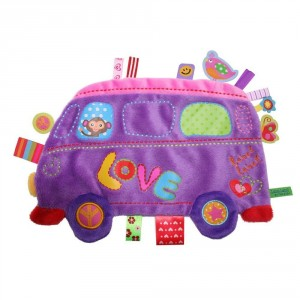 Doudou étiquette Holiday LoveBus LabelLabel