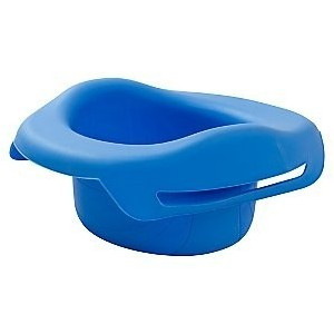 Pot souple pour pot de voyage Potette plus 2 en 1 bleu