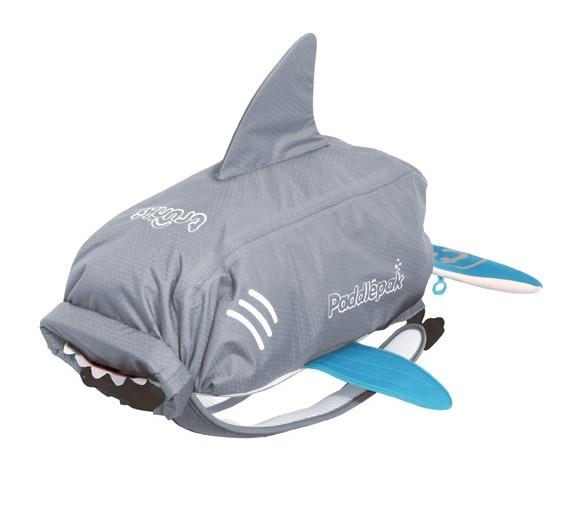 Sac de piscine-plage requin Paddlepack taille L Trunki