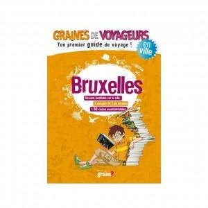 Guide de voyage pour enfant Bruxelles de Graines de Voyageurs