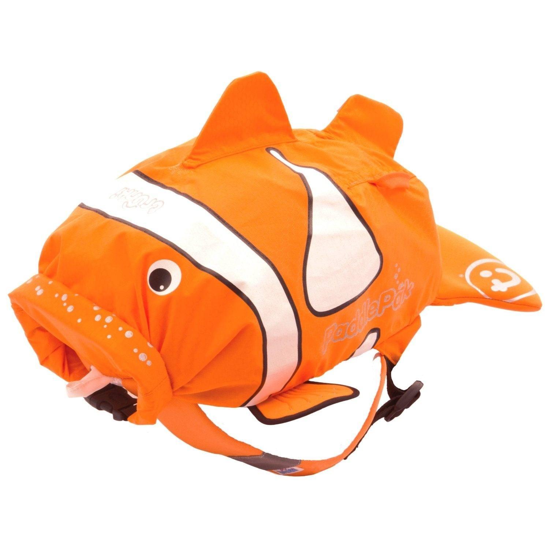 Sac de piscine-plage poisson clown taille M Trunki