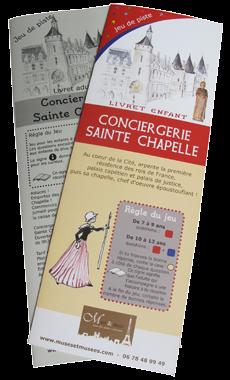 Jeux de piste enfant Paris Conciergerie St Chapelle
