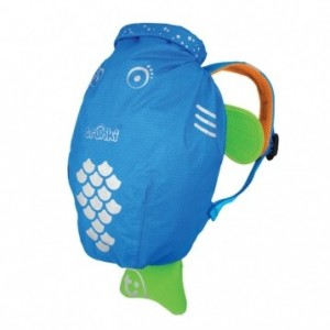 Sac de piscine-plage bleu Paddlepack Trunki taille M