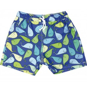 Short de bain anti UV / bleu Pirate