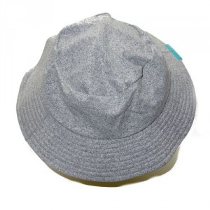 Chapeau gris chiné junior 3-6 ans anti UV Mayoparasol