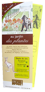 Jeux de piste enfant Paris - Jardin des Plantes