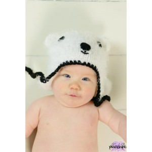 Bonnet Bébé en crochet Huggalugs Bandit