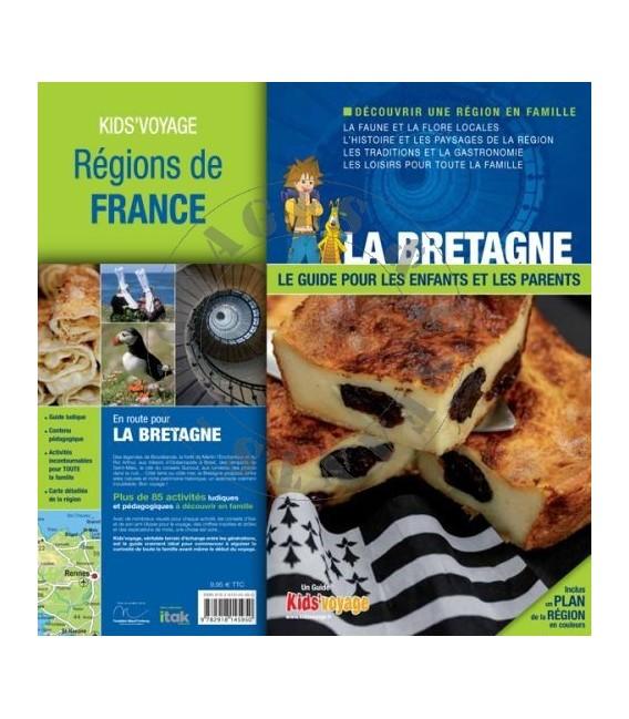 Bretagne livre et guide pour enfant Kids Voyage