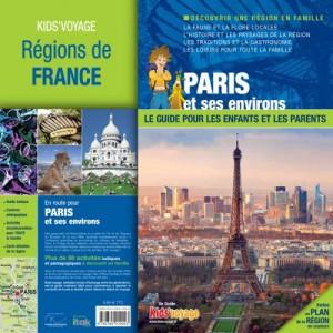 Guide de voyage pour enfant Paris et ses environs