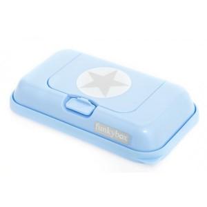 Boite à lingette FunkyBox to go bleue