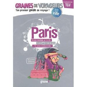 Guide de voyage pour enfant Paris de Graines de Voyageurs