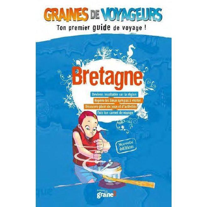 Guide de voyage pour enfant Bretagne de Graines de Voyageurs
