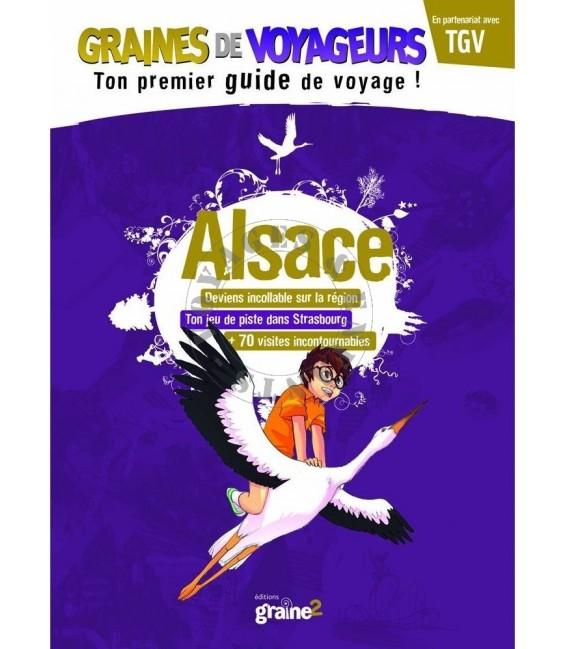 Guide de voyage pour enfant Alsace de Graines de Voyageurs