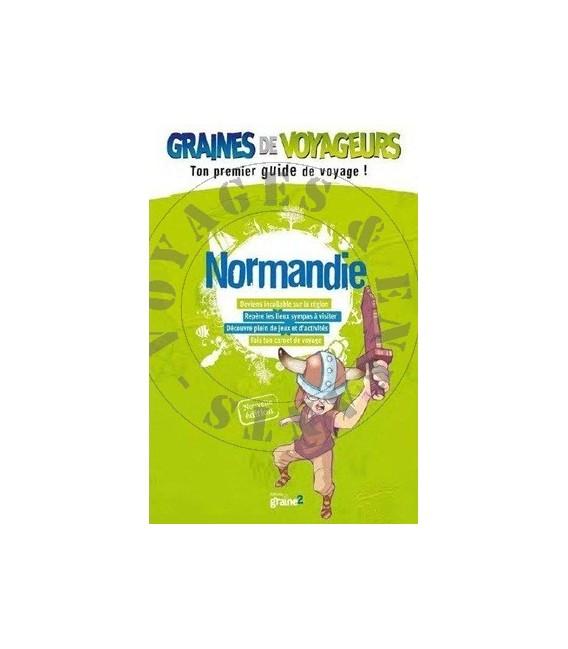 Guide de voyage pour enfant Normandie de Graines de Voyageurs