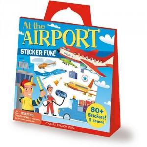 Jeu de voyage stickers A l'aéroport