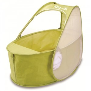 Lit pliant bébé pop-up 0-6mois citron
