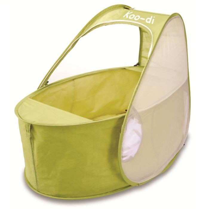 Lit pliant bébé pop-up 0-6mois citron