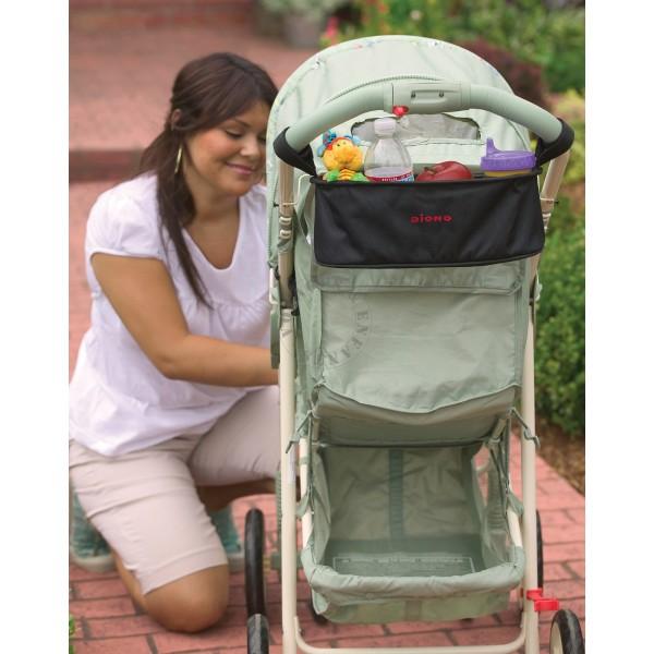 sac de poussette buggy buddy de diono pour organiser la poussette. Black Bedroom Furniture Sets. Home Design Ideas