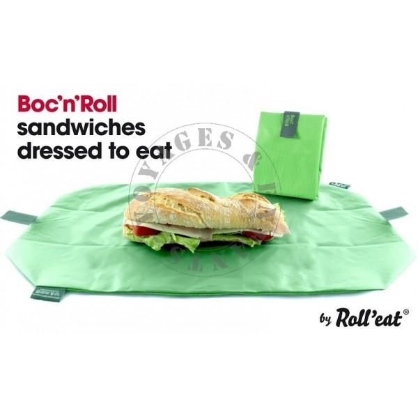 emballage sandwich r utilisable barcelona roll eat pour pique nique. Black Bedroom Furniture Sets. Home Design Ideas