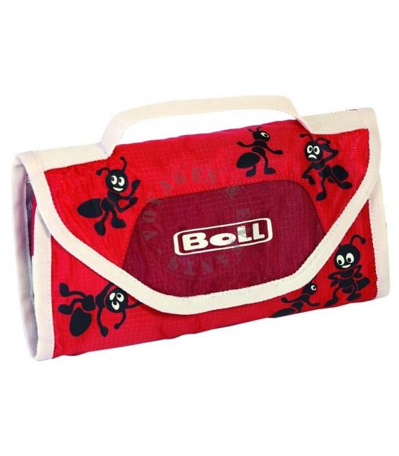 Trousse de toilette compacte rouge fourmi