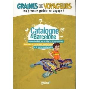 Guide de voyage pour enfant Catalogne et Barcelone de Graines de Voyageurs