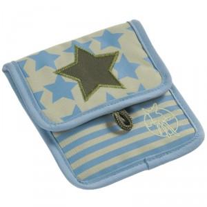 pochette tour de cou pour enfant Lassig Starlight olive