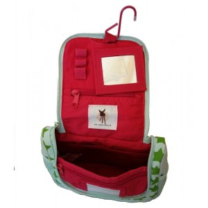 trousse de toilette enfant Starlight magenta rose lassig