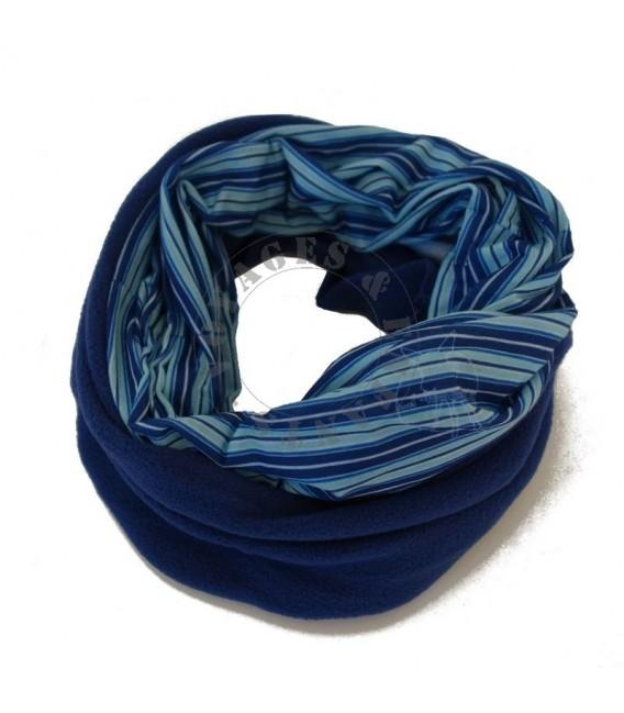 Echarpe tube et bonnet polaire enfant multifonction Twister plusieurs  coloris 582e3cd5c119