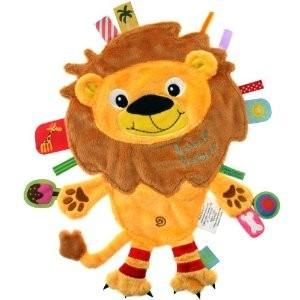 Doudou étiquette Lion Friends Label Label