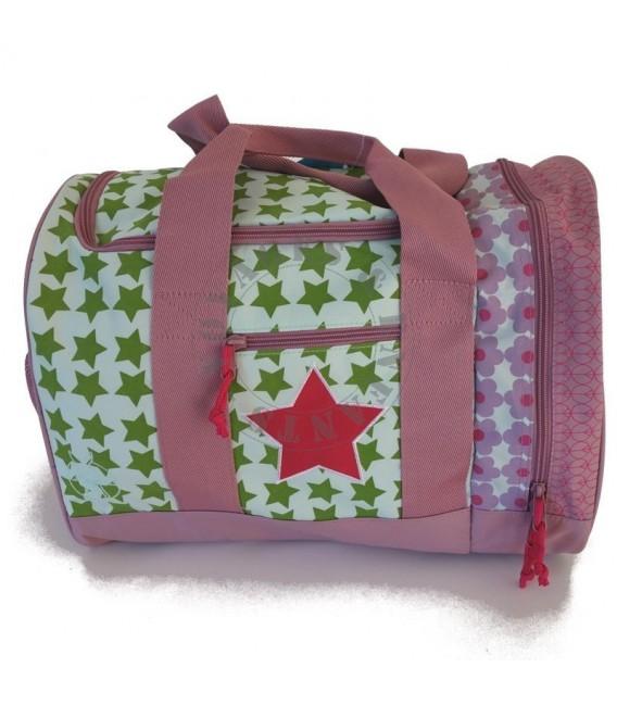 sac de voyage enfant starlight magenta lassig avec poche. Black Bedroom Furniture Sets. Home Design Ideas
