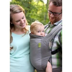 Porte bébé physiologique Boba 4G Gris uni